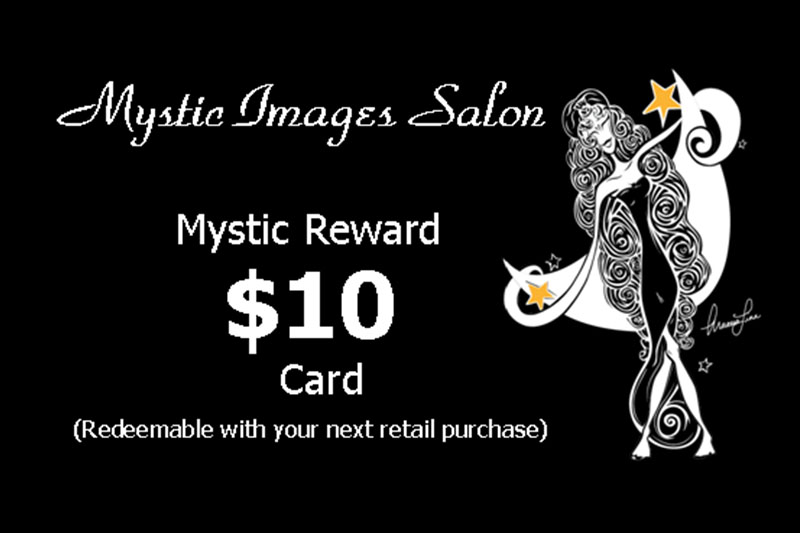 Mystic Reward Card
